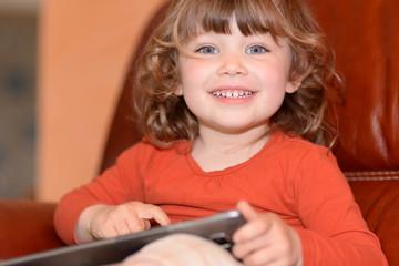 tablette pour un enfant