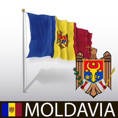 Flag of Moldavia