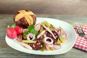 Wurstsalat schwäbisch