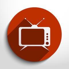 Vector tv web icon