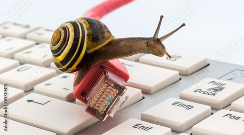 Langsamer Internet Zugang