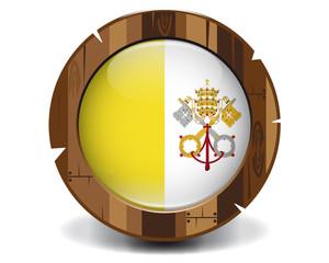Vatican wood button