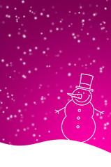 Pinke Winterzeit