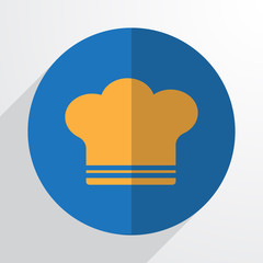Vector cooking cap web icon