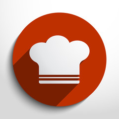 Vector cooking cap web icon