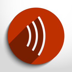 Vector wifi web icon