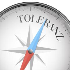 Kompass Toleranz