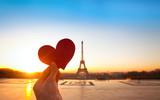 heart in hands, romantic vacations in Paris - 65314205