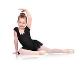 Fototapety little ballerina