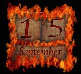 15 de Septiembre.