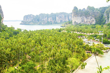 Railay Viewpoint. East and West