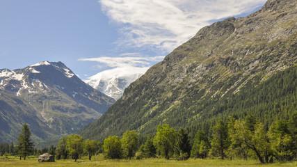 St. Moritz, Maloja, Malojapass, Schweizer Alpen, Graubünden