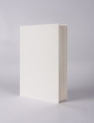 casebound hardback book template with blank cover