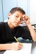 Teen Boy - Test Anxiety