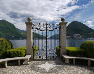 Lugano, Parco Civico Ciani, Switzerland