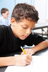 Intelligent Student Takes Test