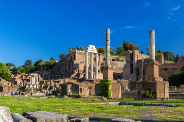 Rome: Ruins of the Forum, Italy