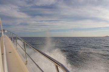 Dettaglio di yacht