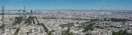 Fotobehang Parijs Vue Aérienne de Paris