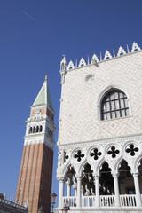 Venezia - Campanile di San Marco e Palazzo del Doge