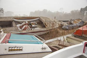 Cimitero di barche