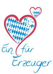 Ein Herz für bayrische Erzeuger