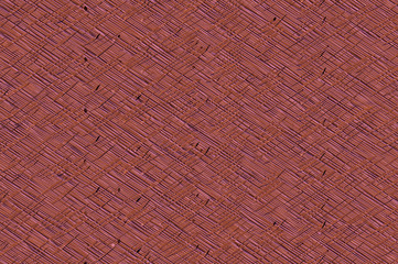 Cross striped relief solid background - dark coral.