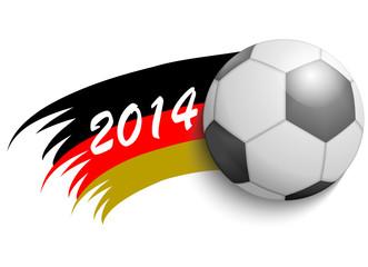Fußball Deutschland 2014