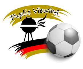 Fußball 2014 Public Viewing