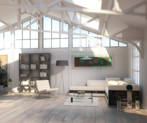 Post Industrial Loft (focus)
