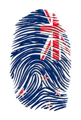 New Zealand Fingerprint