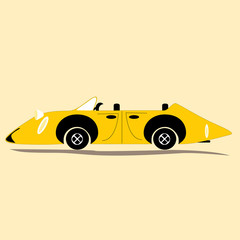 Stylized car