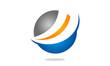 circle abstract logo design