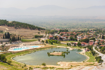Pamukkale valley view