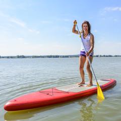 Freizeit auf dem Wasser