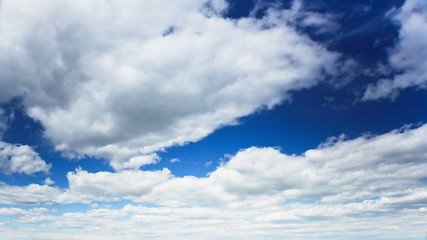 Abstract Background of Cumulus Clouds, TimeLapse