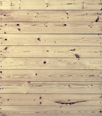 Real pine wood background.