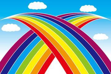 壁紙(虹の橋)
