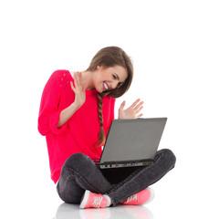 Chatting online