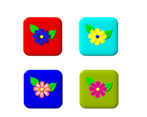 online flower delivery flower button,