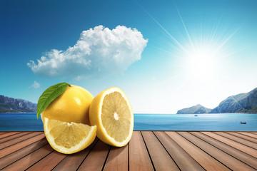 lemon on the harbor