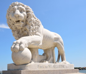 Bridge of Lions St. Augustine, Florida Monument