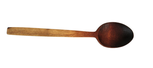 Wooden spoon.