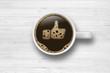 Cup of coffee / Like - 65342431