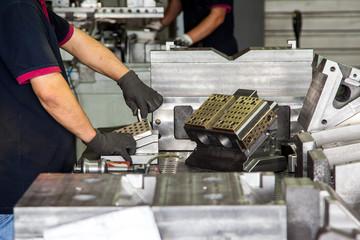 Man Working in Manufacturing