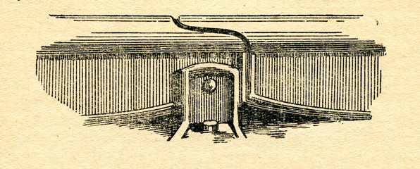 Rail with half-lap joint, patented by Stephenson 1816