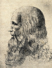 Portrait of Leonardo da Vinci by Melzi