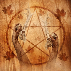 Pagan Forest Ritual