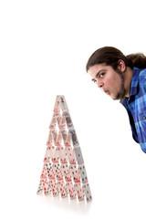 Die Absicht, das Kartenhaus wegzublasen