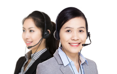 Asia customer service team
